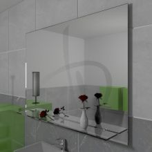 Spiegel zu hängen