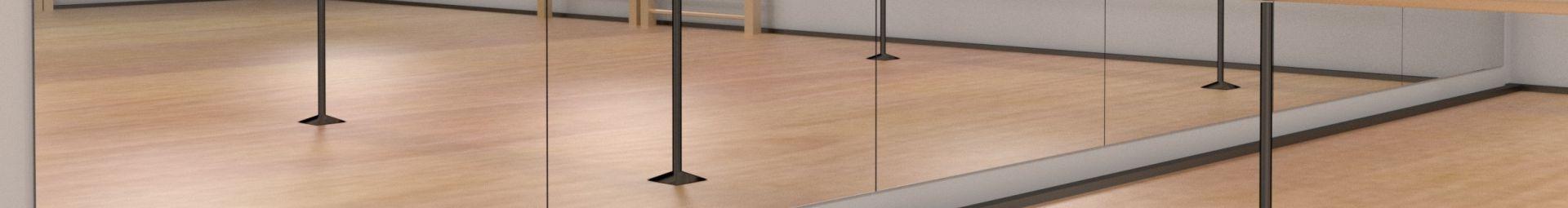 Modulare Spiegel für große Umgebungen