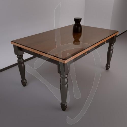 copritavolo-transparentes-glas-bronzierte-tailored