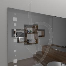 Spiegel Ohne Rahmen Mit A035 Dekoriert
