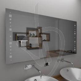 Specchio da parete, con decoro A035