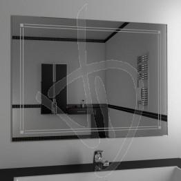 Specchio design, con decoro B021