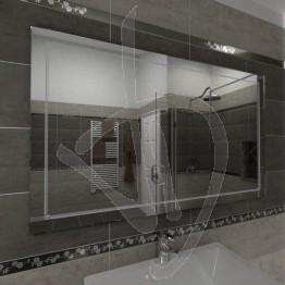 Specchio decorativo, con decoro B010