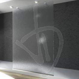 Parete doccia fissa, su misura, in vetro stampato C