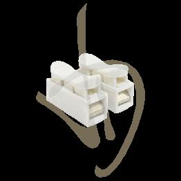 Connettore Terminale per striscia LED, Morsetto a molla (10 pz)