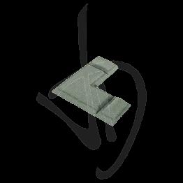 Accessorio di giunzione a 90°, Misure L35.2xH35.2xP5.05 mm