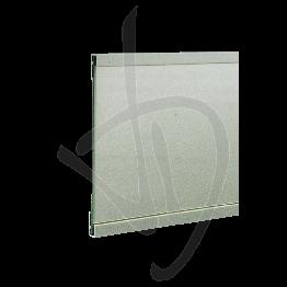 Profilo per supporto specchi singolo, Misure L3000/6000xH30xP13 mm
