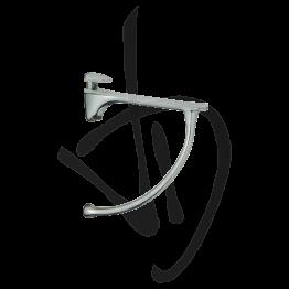 Reggimensola per carichi medi, Misure H150/164xP150 mm, Spessore vetro 6-20 mm