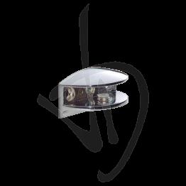 Reggimensola per carichi leggeri, Misure 35xP35mm, Spessore vetro 6-15 mm