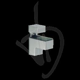 Reggimensola per carichi medi, Misure 51/63xP48mm, Spessore vetro 4-16 mm